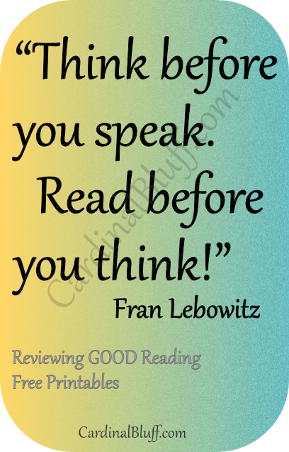 Think and read